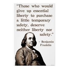 ben franklin safety quote